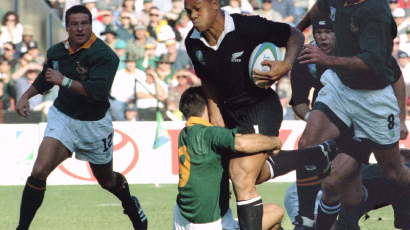Lomu against Springboks 1995